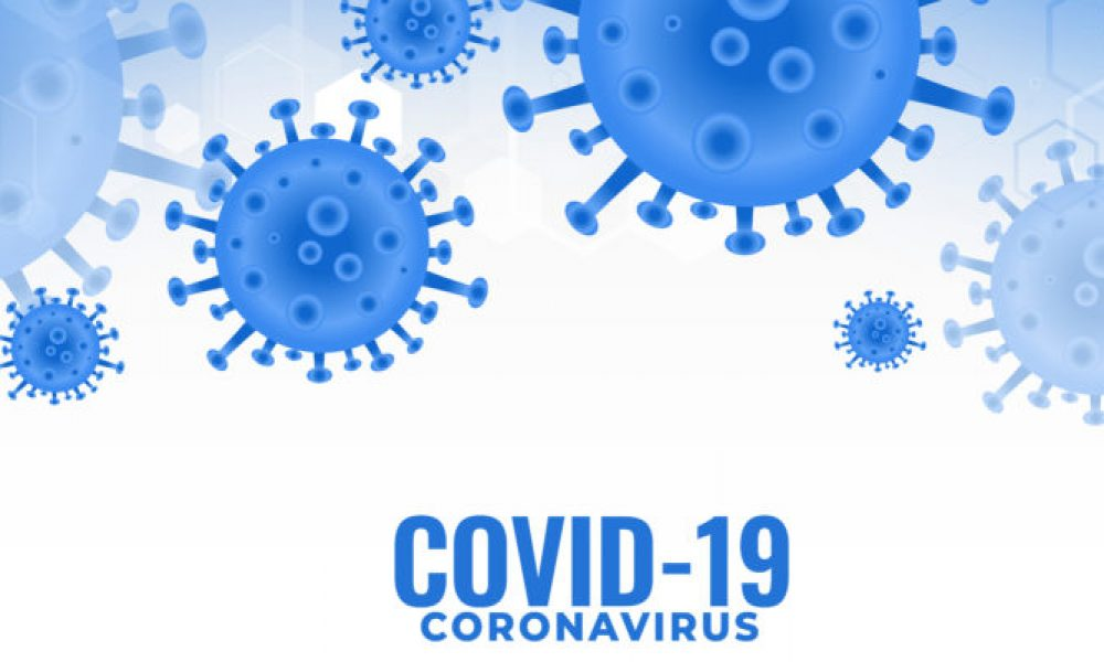 covid19 coronavirus infection spreading pandemic background design